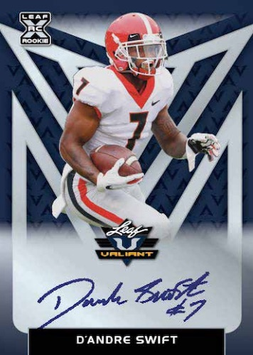 2020 Leaf Valiant Football Cards 3