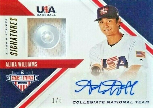2020 Panini Stars & Stripes USA Baseball Cards 4