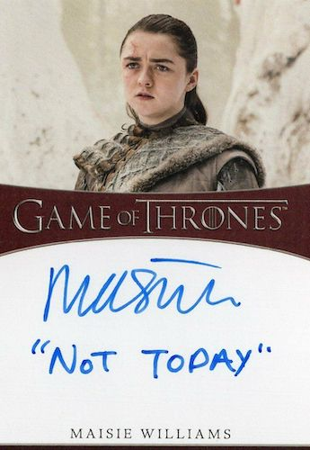 2020 Rittenhouse Game of Thrones Season 8 Trading Cards 7