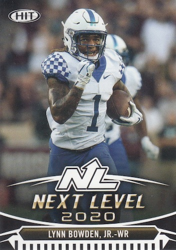 2020 Sage Hit Premier Draft Low Series Football Cards 7
