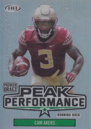 2020 Sage Hit Premier Draft Low Series Football Cards 12