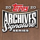 2020 Topps Archives Signature Series Retired Player Edition Baseball Cards
