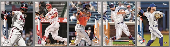 2020 Topps Baseball Complete Factory Set Cards 1
