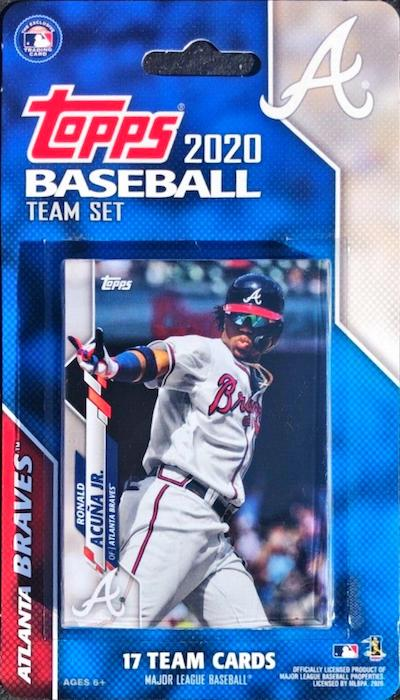 2020 Topps Baseball Factory Team Set Cards 3