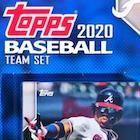 2020 Topps Baseball Factory Team Set Cards