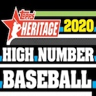 2020 Topps Heritage High Number Baseball Cards