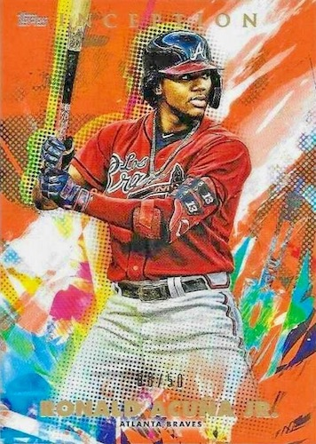2020 Topps Inception Baseball Cards 10