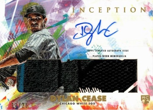 2020 Topps Inception Baseball Cards 13