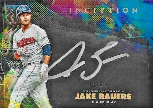 2020 Topps Inception Baseball Cards 16