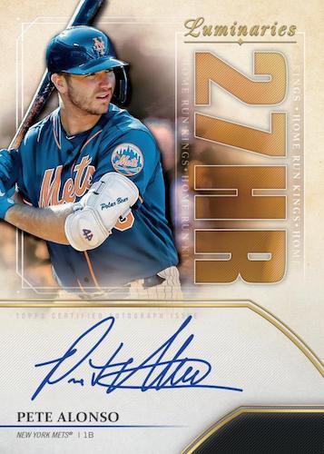 2020 Topps Luminaries Baseball Cards 3