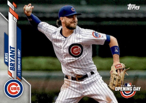 2020 Topps Opening Day Baseball Variations Guide - Canadian Exclusives 42