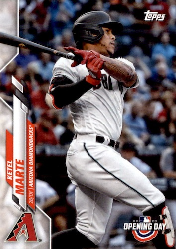 2020 Topps Opening Day Baseball Variations Guide - Canadian Exclusives 52