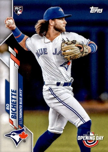 2020 Topps Opening Day Baseball Variations Guide - Canadian Exclusives 62