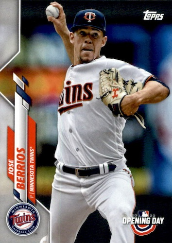 2020 Topps Opening Day Baseball Variations Guide - Canadian Exclusives 73