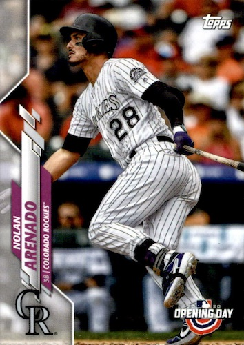 2020 Topps Opening Day Baseball Variations Guide - Canadian Exclusives 16