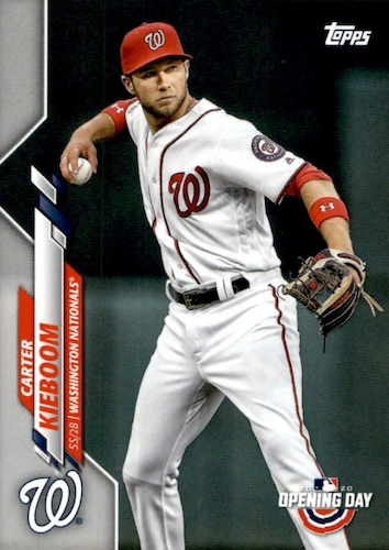 2020 Topps Opening Day Baseball Variations Guide - Canadian Exclusives 18