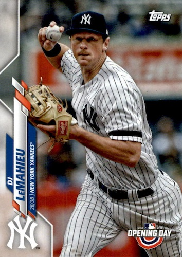 2020 Topps Opening Day Baseball Variations Guide - Canadian Exclusives 32