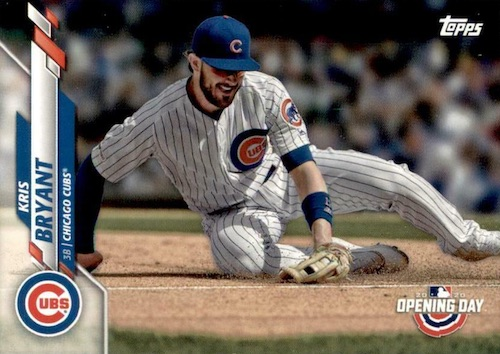 2020 Topps Opening Day Baseball Variations Guide - Canadian Exclusives 43