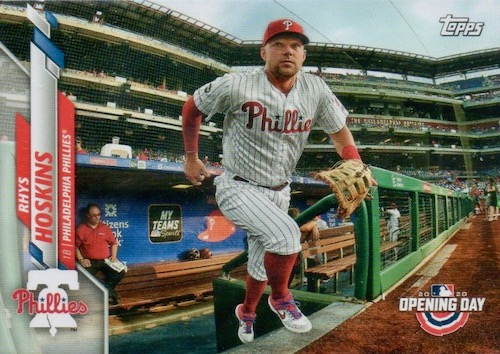 2020 Topps Opening Day Baseball Variations Guide - Canadian Exclusives 49