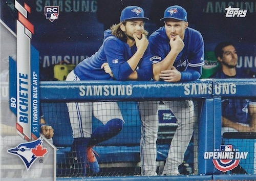 2020 Topps Opening Day Baseball Variations Guide - Canadian Exclusives 1