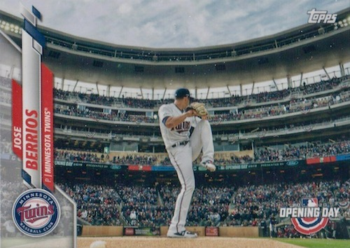 2020 Topps Opening Day Baseball Variations Guide - Canadian Exclusives 74