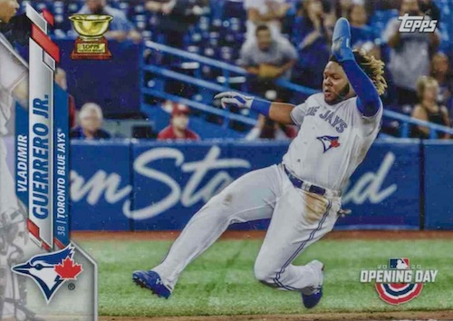 2020 Topps Opening Day Baseball Variations Guide - Canadian Exclusives 12
