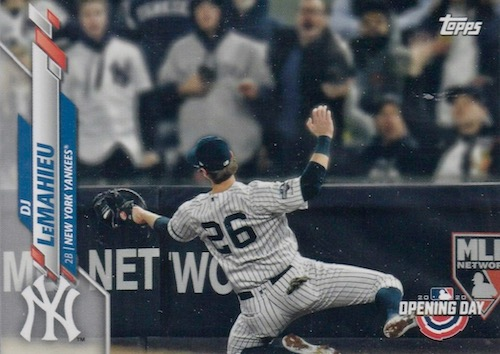2020 Topps Opening Day Baseball Variations Guide - Canadian Exclusives 33
