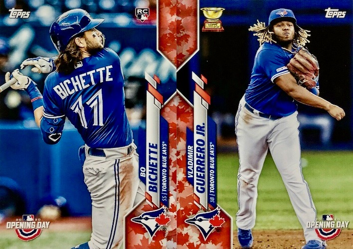 2020 Topps Opening Day Baseball Variations Guide - Canadian Exclusives 3