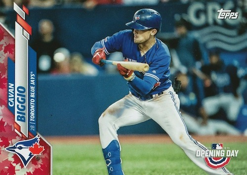 2020 Topps Opening Day Baseball Variations Guide - Canadian Exclusives 72