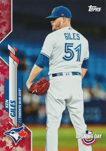 2020 Topps Opening Day Baseball Variations Guide - Canadian Exclusives 15