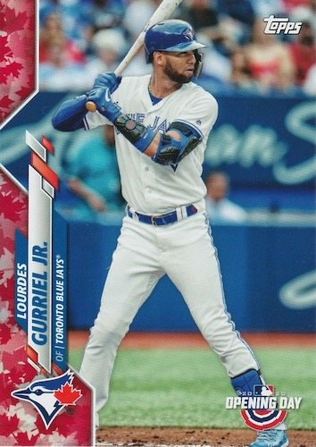2020 Topps Opening Day Baseball Variations Guide - Canadian Exclusives 23