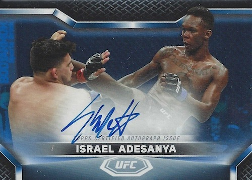 2020 Topps UFC Knockout MMA Cards 9