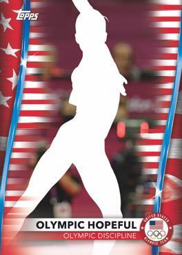 2020 Topps US Olympics & Paralympics Team Hopefuls Trading Cards 2