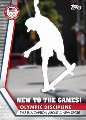2020 Topps US Olympics & Paralympics Team Hopefuls Trading Cards 3