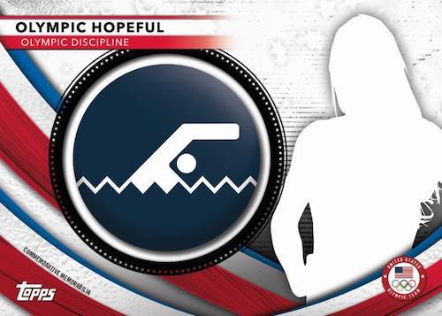 2020 Topps US Olympics & Paralympics Team Hopefuls Trading Cards 6
