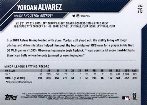 2020 Topps Utz Baseball Cards 2
