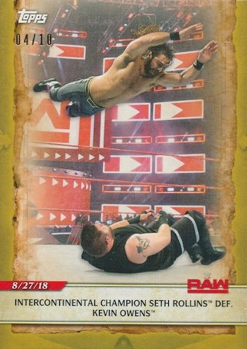 2020 Topps WWE Road to WrestleMania Cards 7