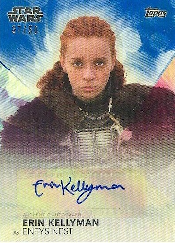 2020 Topps Women of Star Wars Trading Cards 10