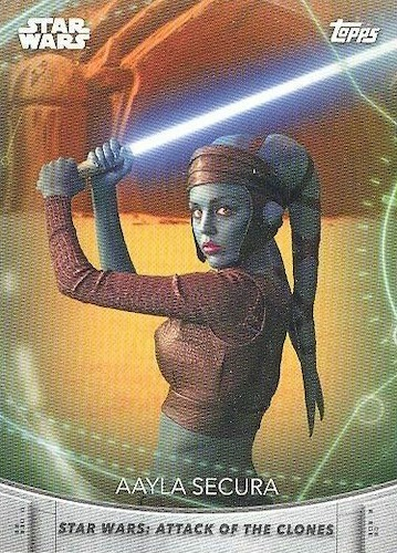 2020 Topps Women of Star Wars Trading Cards 9