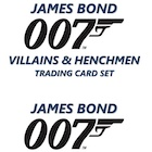 2021 Upper Deck James Bond Villains & Henchmen Trading Cards