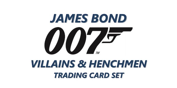 2021 Upper Deck James Bond Villains & Henchmen Trading Cards 1