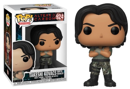 Funko Pop Altered Carbon Figures 1