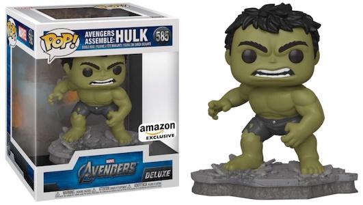 Funko Pop Avengers Deluxe Set Figures - Victory Shawarma & Avengers Assemble Series 4