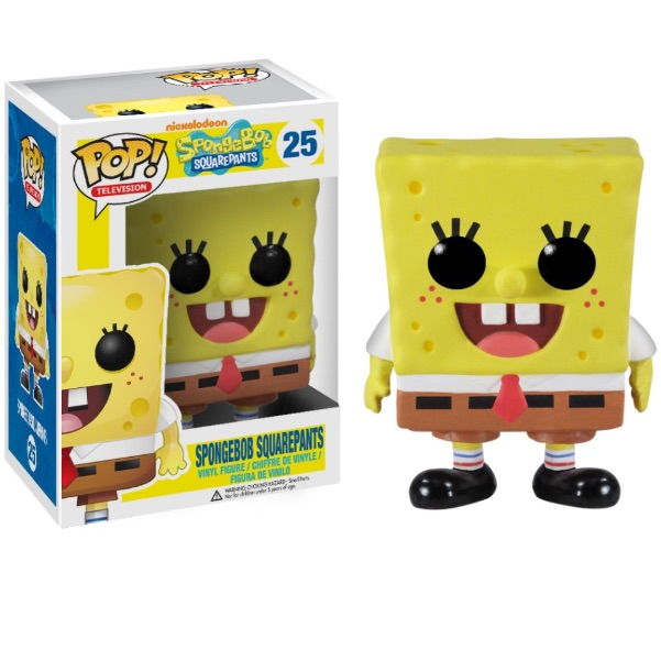 FUNKO POP SPONGEBOB SQUAREPANTS SPONGEBOB WITH FUN EXCLUSIVE POP PROTECTOR