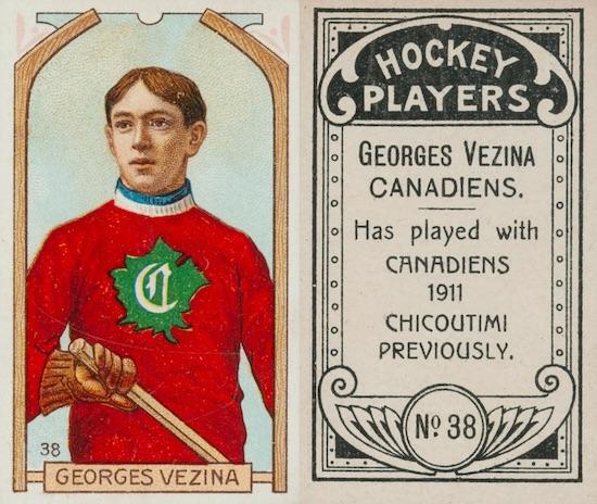 1911-12 C55 Hockey Cards 1