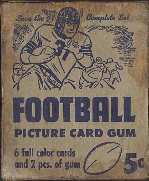 1950 Bowman Football Cards 2