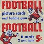 1950 Bowman Football Cards