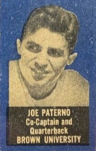 1950 Topps Felt Backs Football Cards 1