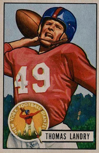 1951 Bowman Football Cards 1
