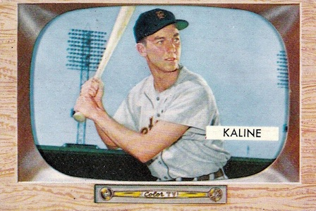Top 10 Al Kaline Baseball Cards 12